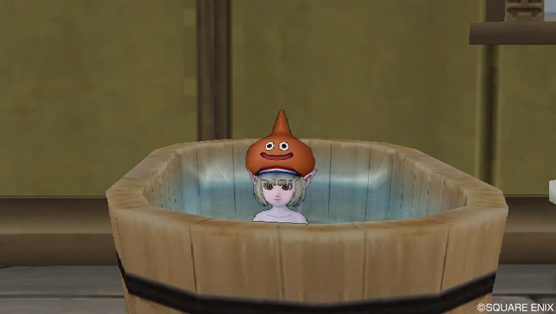 いい湯だなぁ~♪