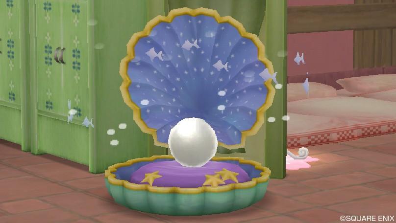 大きな真珠貝