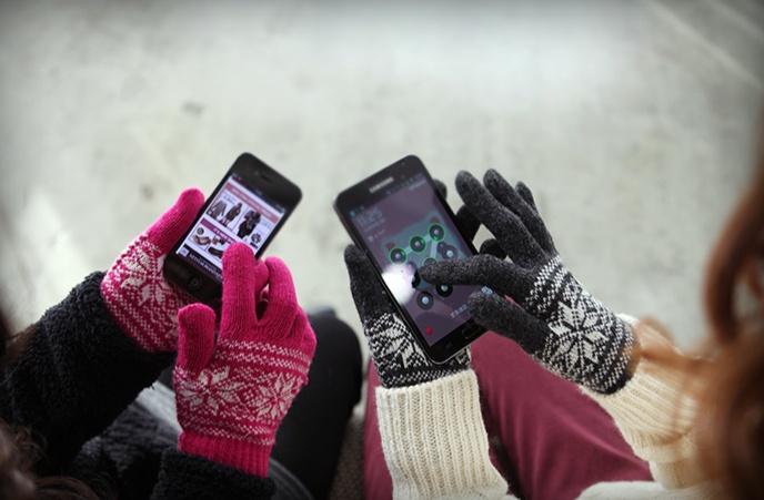 ノスタルジック手袋
