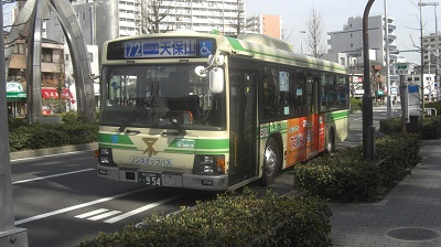 72号系統天保山行き