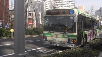 88号系統大阪駅行き