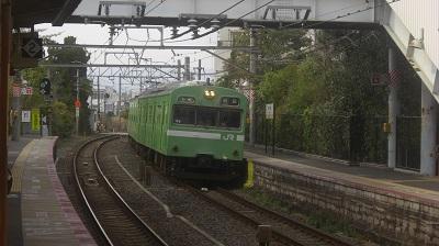 奈良線の主力車両 103系