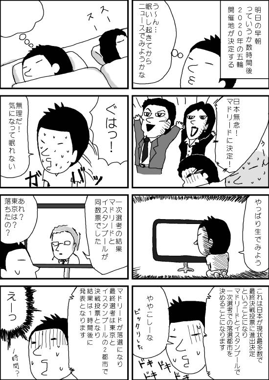東京五輪決定①