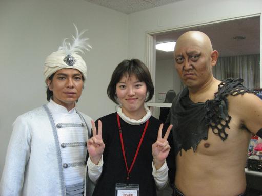 パオさんとボランティア浅野さん