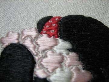 日本刺繍 相良繍1