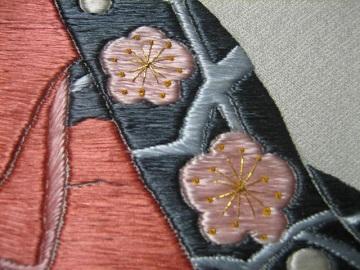 日本刺繍 相良繍2