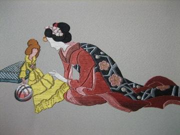 日本刺繍 相良繍3