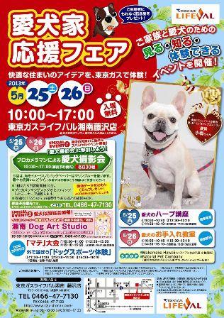愛犬家応援フェア2013表
