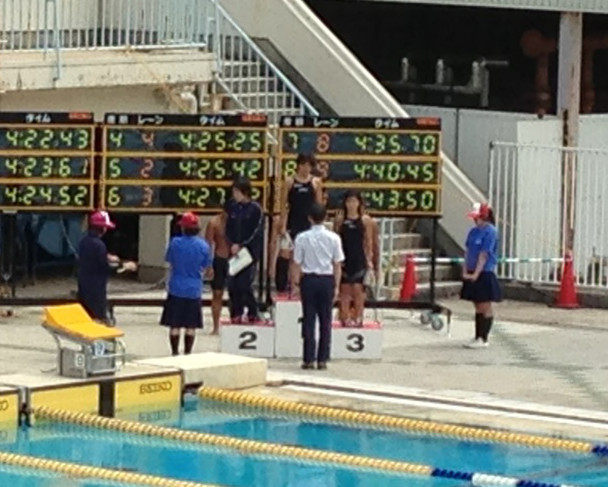 H250722水泳表彰式平田