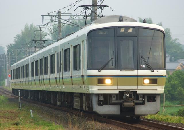 奈良線221系 原型