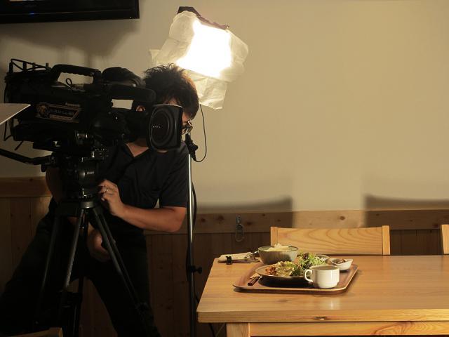 お料理の撮影