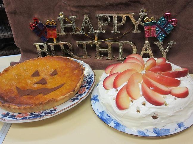 かぼちゃとりんご