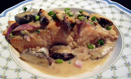 味噌美乃滋烤三文魚