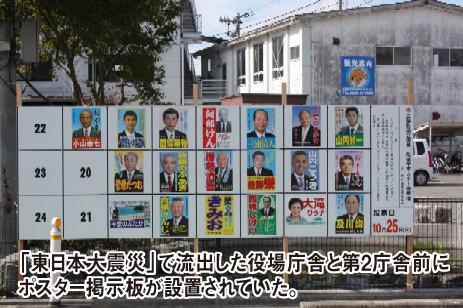 前回の選挙掲示板