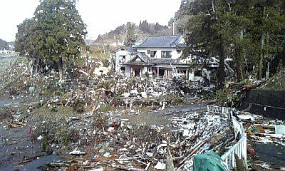 津波前の志津川湾