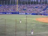 2013年09月14日 ヤクルト戦 藤浪試合前練習1