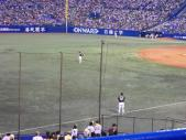 2013年09月14日 ヤクルト戦 藤浪試合前練習2
