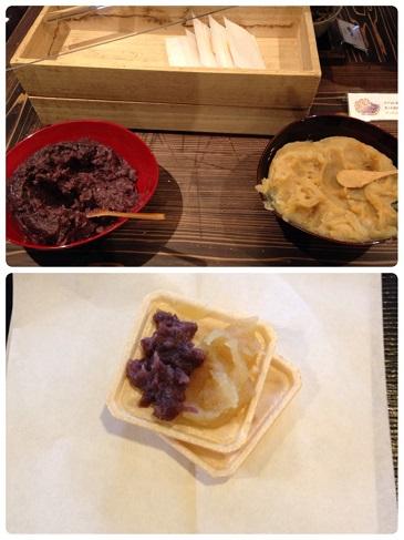 ⑨ デザートのモナカ