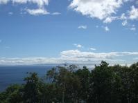 羅臼展望台からの風景1