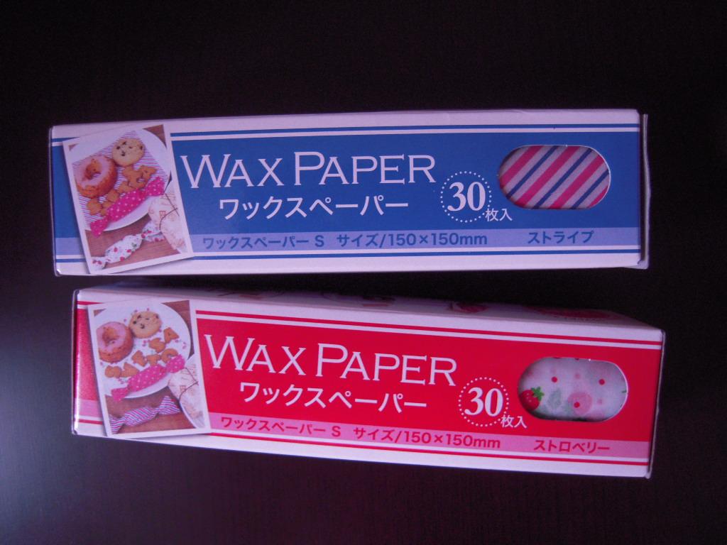 キャンドゥ☆ waxペーパー☆1