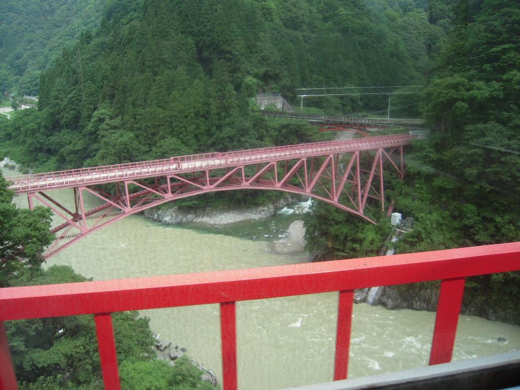 黒部峡谷トロッコ列車☆1
