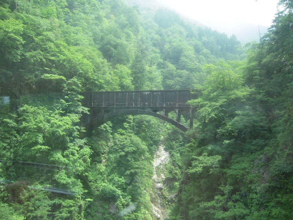 黒部峡谷トロッコ列車☆4