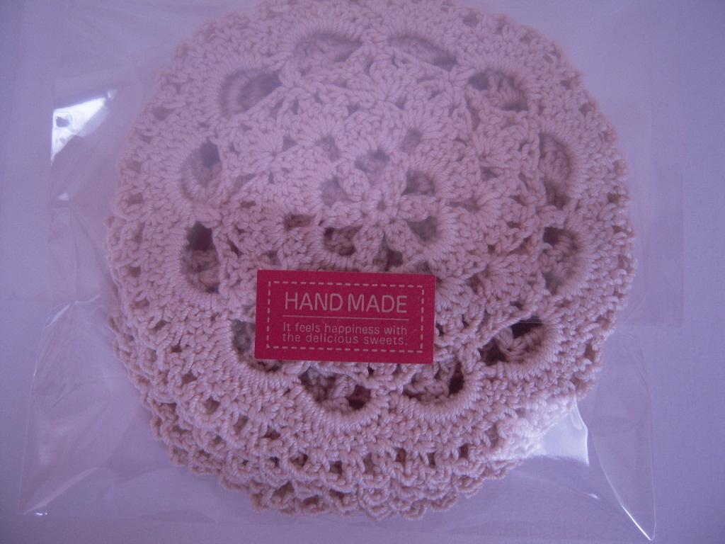 手編みのコースター☆3