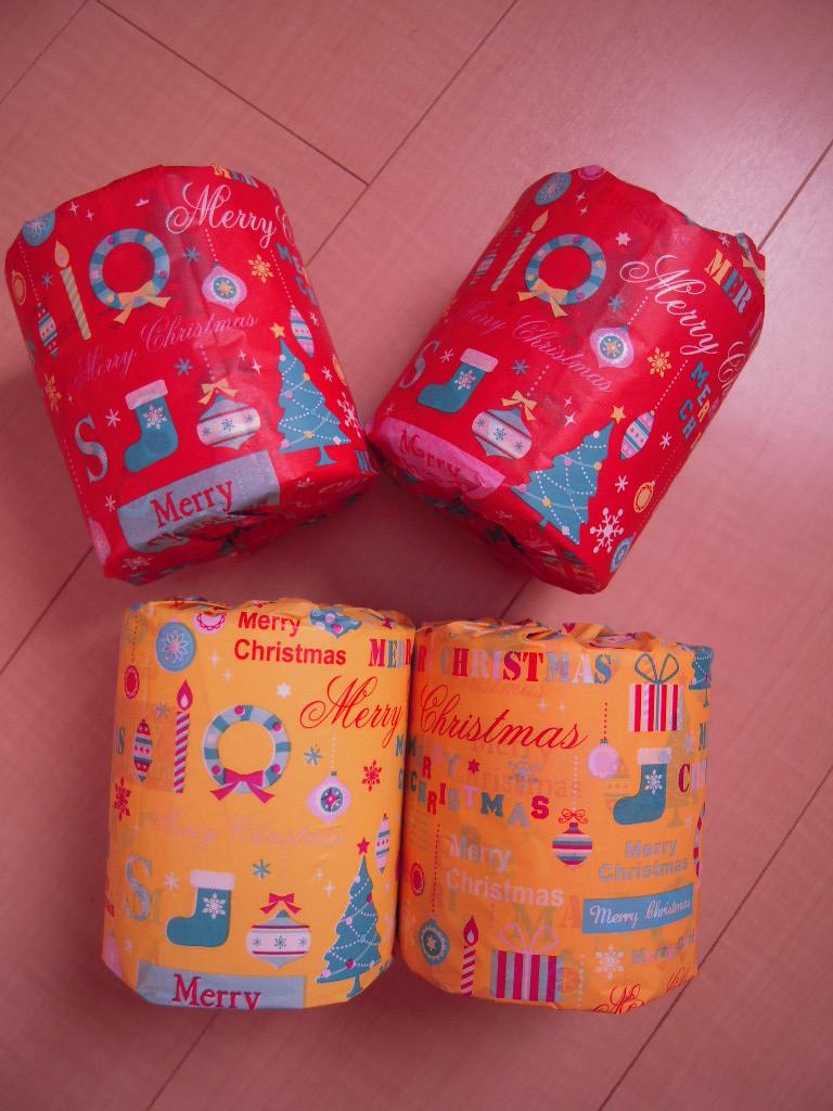 ダイソー☆ クリスマスラッピングティッシュ☆5