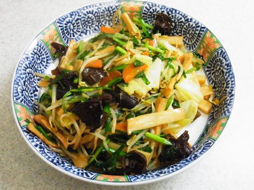 131110-221野菜とメンマの炒め(S)