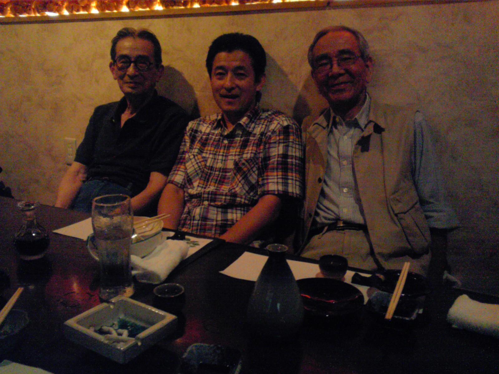 内田さん、西本さんと