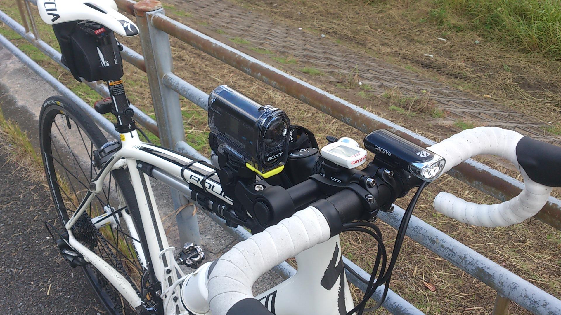 自転車の 自転車 車載カメラ 振動 : 車載動画はじめました(自転車 ...