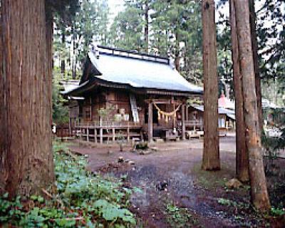 成島三熊野神社