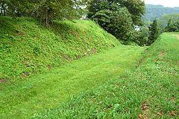 九戸城の堀