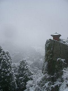立石寺納経堂(山形県)