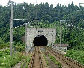 青函トンネル本州側出入り口