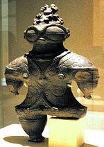 遮光器土偶・東京国立博物館蔵