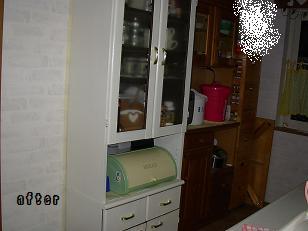 食器棚アフター