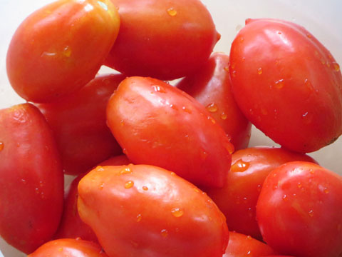 ベル型トマト