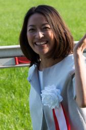 羽田美智子さんはサービス旺盛でした