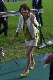 サービス精神旺盛な競馬の女王
