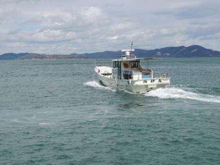 N2106チャーター船