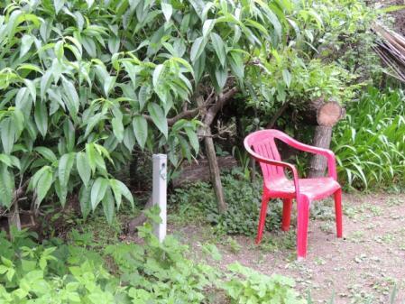 N2533赤い椅子