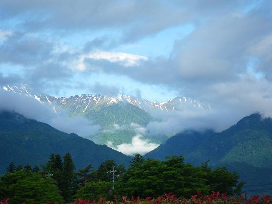 0616穂高連山