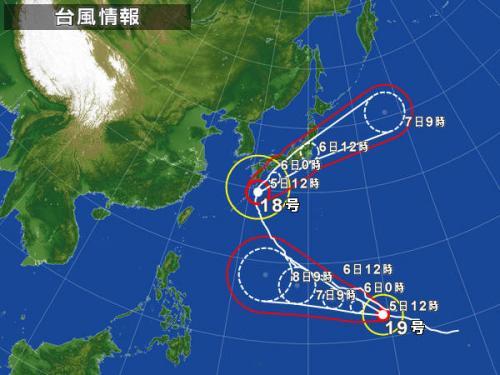 またまた台風接近!・10