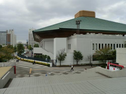 初の大相撲観戦・2