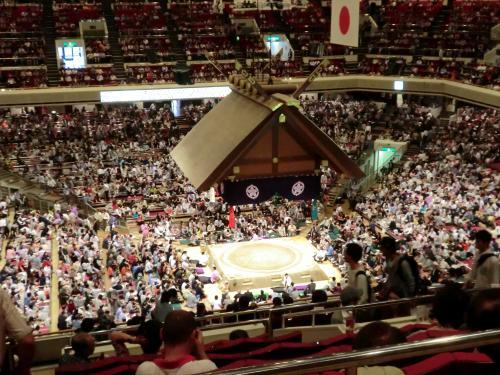 初の大相撲観戦・13