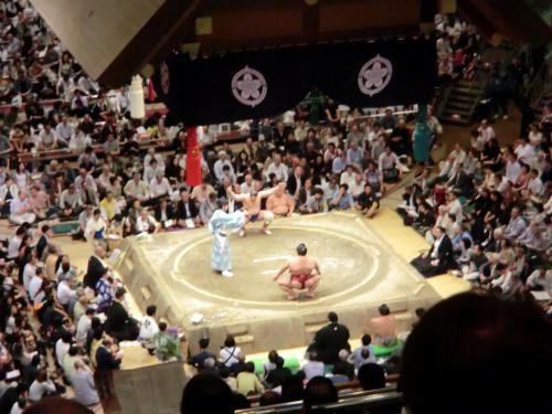 初の大相撲観戦・16