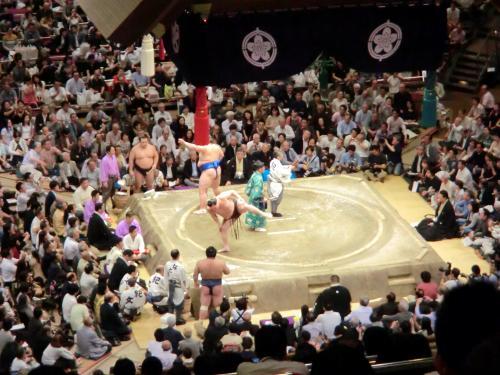 初の大相撲観戦・18