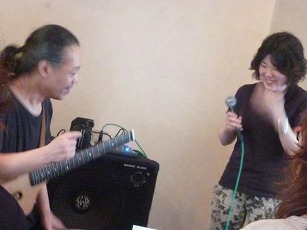 g村山義光講師とボーカル受講者
