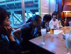 g村山義光講師と受講者とお茶しました